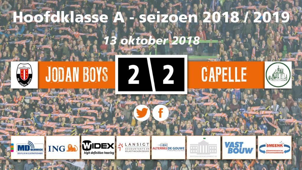 Jodan Boys en Capelle in evenwicht