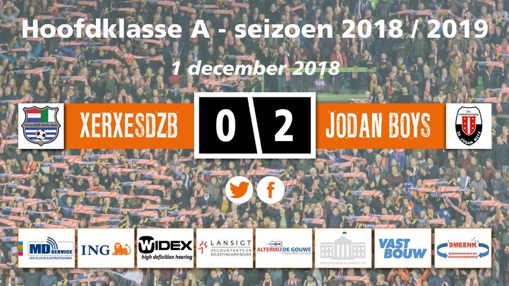 Jodan Boys verslaat XerxesDZB en wint voor de derde maal op rij.