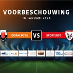 Voorbeschouwing Jodan Boys – Sportlust'46