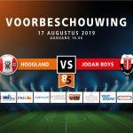 Voorronde KNVB beker: Hoogland – Jodan Boys