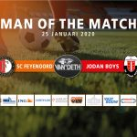 Roy Rondeltap Van Deth Man of the Match