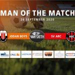 Stefan den Horder – Van Deth man of the match