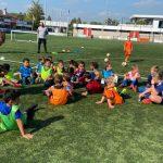 Kabouters zetten eerste stappen op het voetbalveld