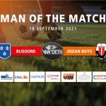 Luc Dielhof van Deth man of the match